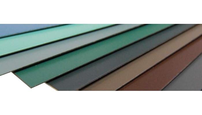 Blechplatte gefärbt 0,50*1250*2000